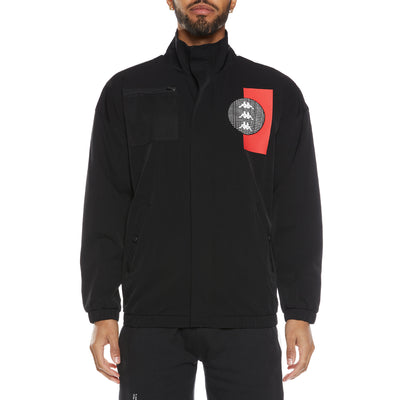 Authentic HB Ektor Jacket - Black Red