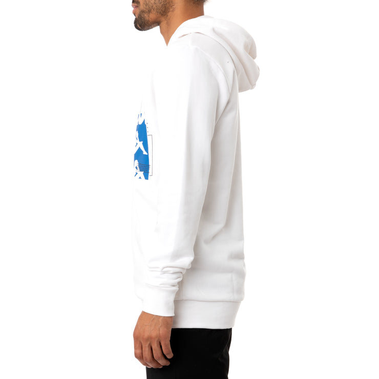 Authentic HB Ecliss Hoodie - White Blue Royal