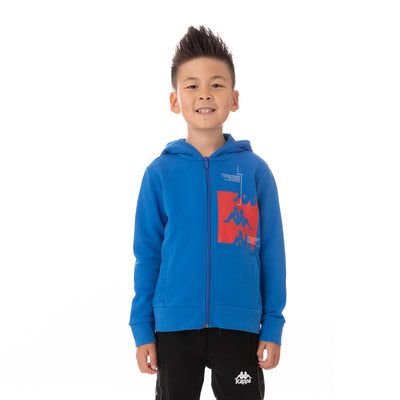 Kids Authentic Hb Ecliss Zip Hoodie - Blue Royal