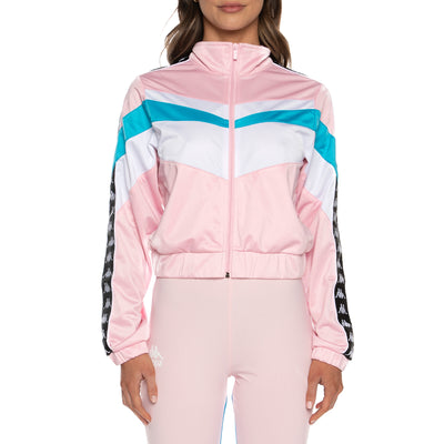 Authentic Football Esta Track Jacket - Pink White Blue