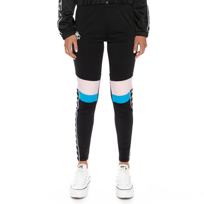 Authentic Football Eshu Leggings - Black Blue Pink