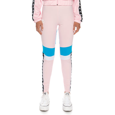 Authentic Football Eshu Leggings - Pink White Blue