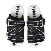 Authentic Jpn Mitel 2 Sandals - Black White