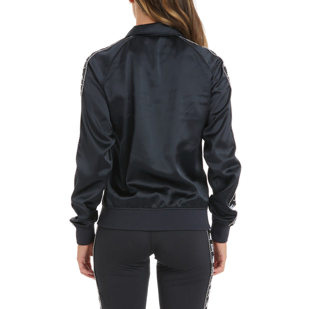 Authentic Juicy Couture Egira Track Jacket - Black Smoke