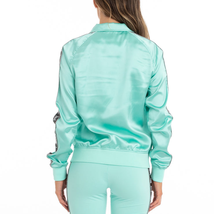 Authentic Juicy Couture Egira Track Jacket -  Mint Black