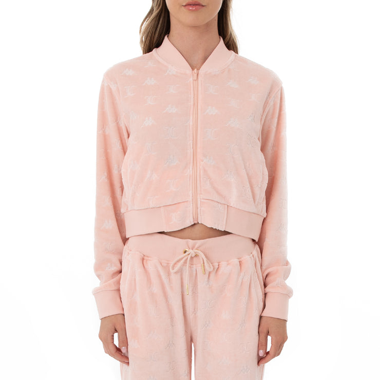 Authentic Juicy Couture Elasi Velour Jacket - Pink Blush