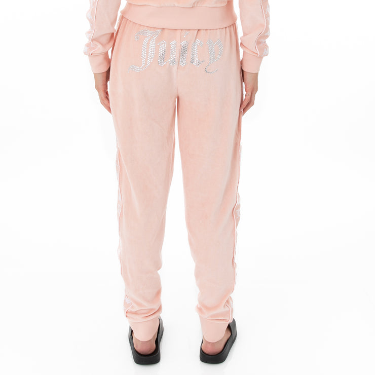 Authentic Juicy Couture Ella Velour Leggings -  Pink Blush