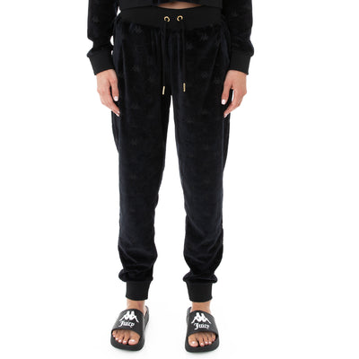 Authentic Juicy Couture Eco Velour Pants - Black Smoke