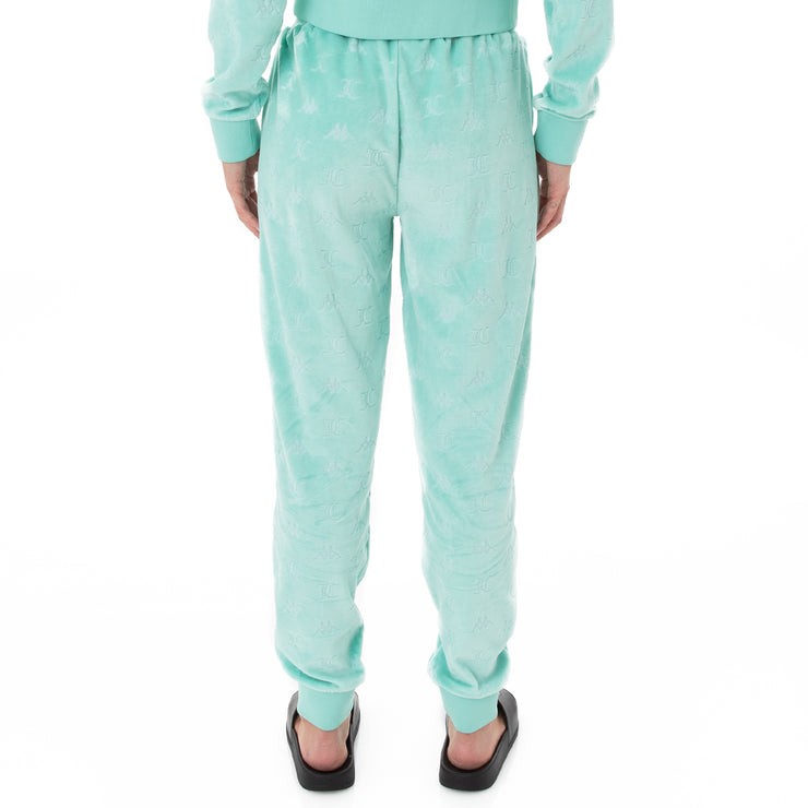 Authentic Juicy Couture Eco Velour Pants - Green Lt Ocean