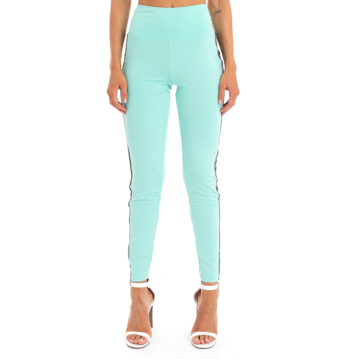 Authentic Juicy Couture Enrica Leggings - Mint Black