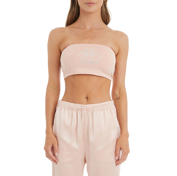 Authentic Juicy Couture Eva Bandeau - Pink Blush