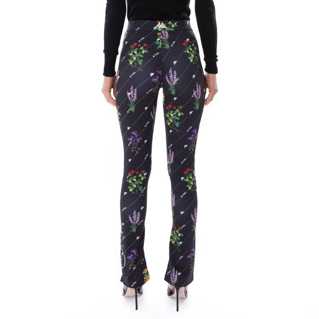 Kontroll Print leggings Black Fancy Flowers