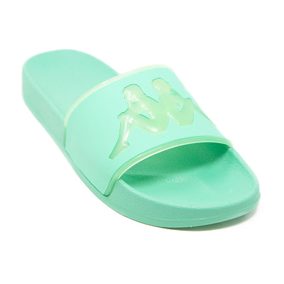 Authentic Aqua 1 Slides - Green Ash