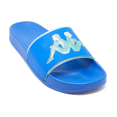 Authentic Aqua 1 Slides - Blue Green