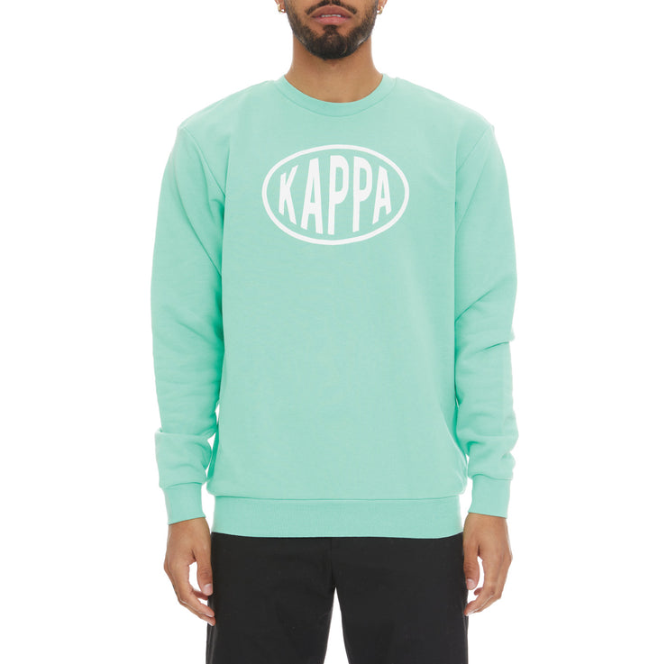 Authentic Pop Epaz Sweatshirt - Green Spring White