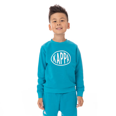 Kids Authentic Pop Epaz Sweatshirt - Sea White