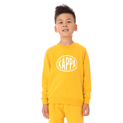 Kids Authentic Pop Epaz Sweatshirt - Yellow Dk White