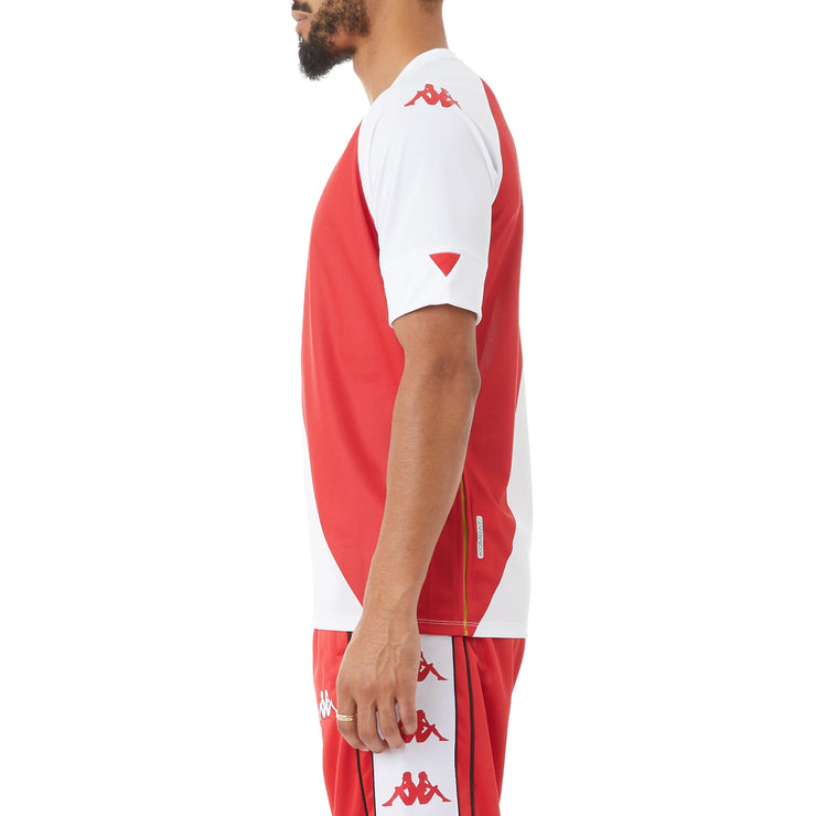 Kombat Monaco Jersey - White Red
