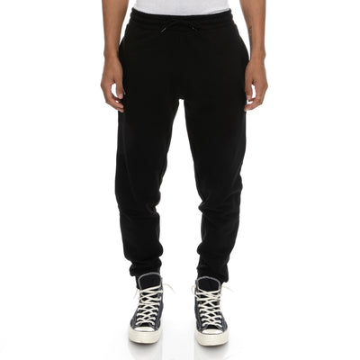 Logo Fleece Zanok Sweatpants - Black