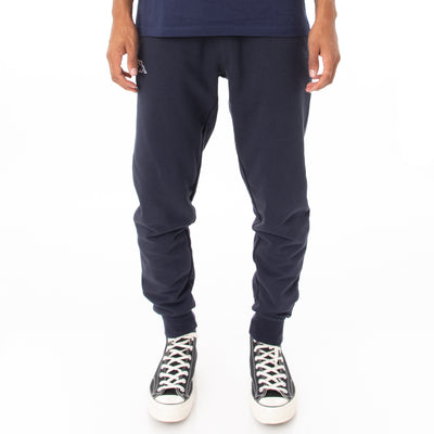Logo Fleece Zanok Sweatpants - Navy Blue