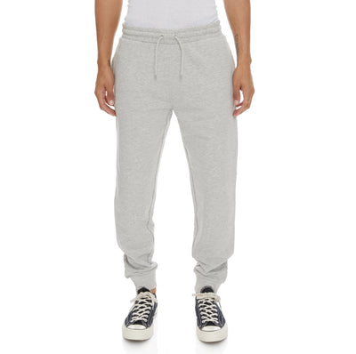 Logo Fleece Zanok Sweatpants - Grey Md Mel