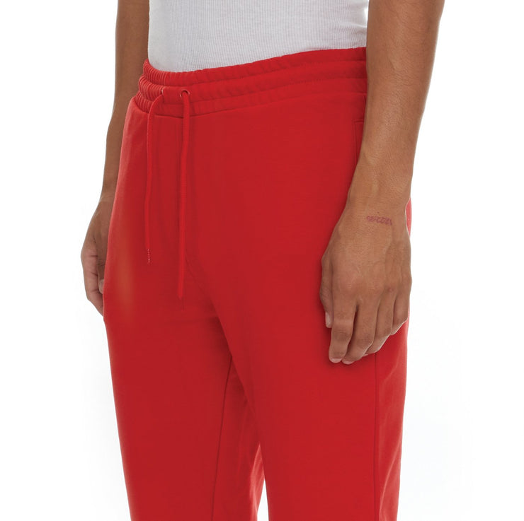 Logo Fleece Zanok Sweatpants - Red Coral
