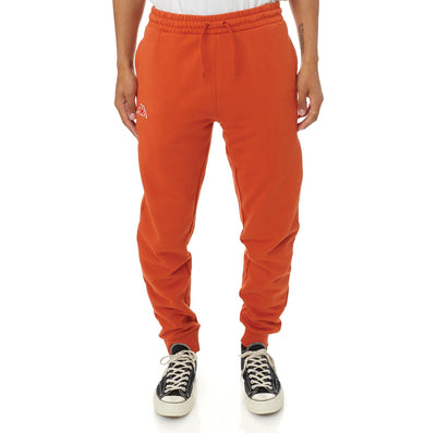 Logo Fleece Zanok Sweatpants - Orange