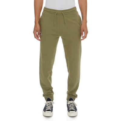Logo Fleece Zanok Sweatpants - Green Olive