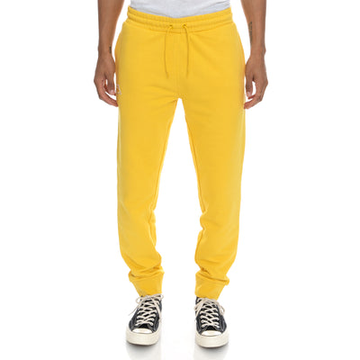 Logo Fleece Zanok Sweatpants - Yellow