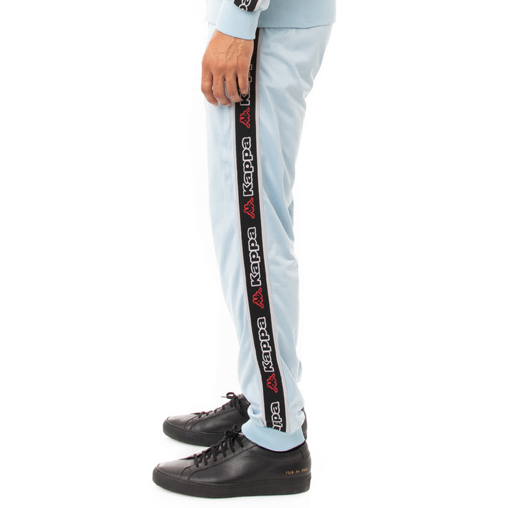 Kappa Logo Tape Alic 2 Trackpants - Blue Dream Black
