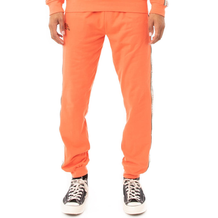 Kappa Logo Tape Alic 2 Trackpants - Orange Green Red