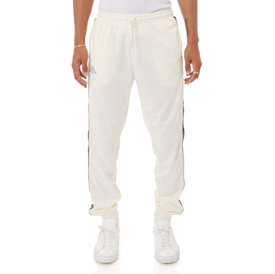 Kappa Logo Tape Alic 2 Trackpants - Cream