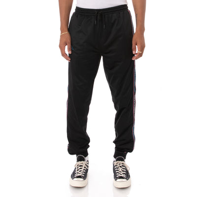 Kappa Logo Tape Alic 2 Trackpants - Black