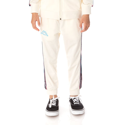 Kids Logo Tape Alic 2 Trackpants - Cream