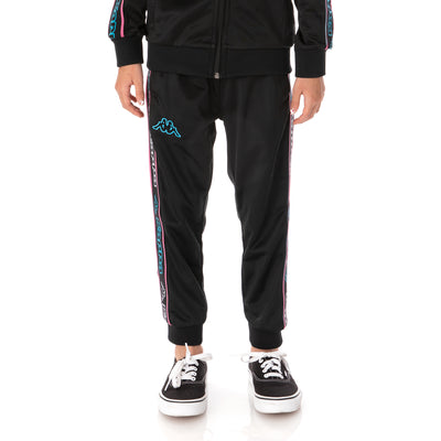 Kids Logo Tape Alic 2 Trackpants - Black