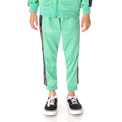 Kids Logo Tape Alic 2 Trackpants - Green