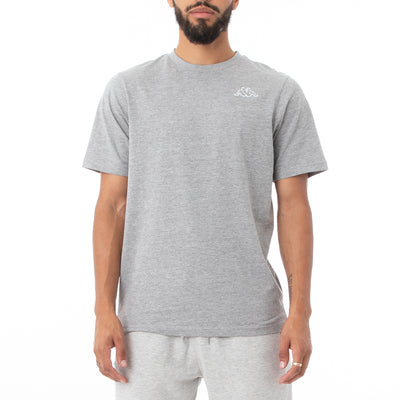 Logo Fleece Caferok T-Shirt - Grey Md Mel