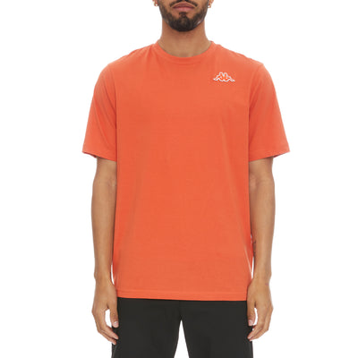 Logo Fleece Caferok T-Shirt - Orange