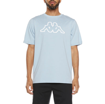 Logo Fleece Cromok T-Shirt - Blue Lt