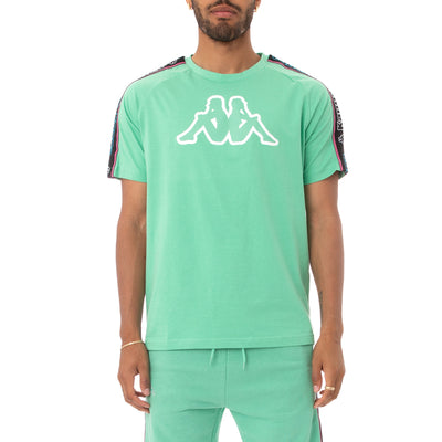 Kappa Logo Tape Avirec 2 T-Shirt - Green