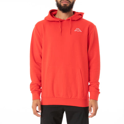 Logo Fleece Caiok Hoodie - Red Coral