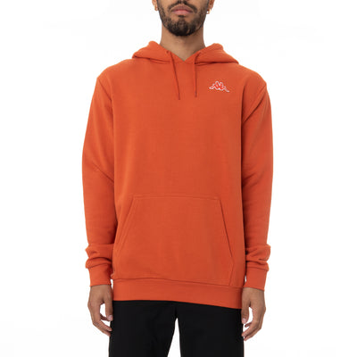 Logo Fleece Caiok Hoodie - Orange