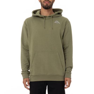 Logo Fleece Caiok Hoodie - Green Olive