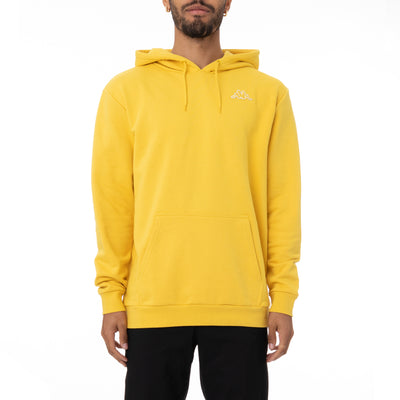 Logo Fleece Caiok Hoodie - Yellow