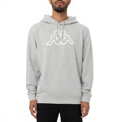 Logo Fleece Zavrok Hoodie - Grey Md Mel