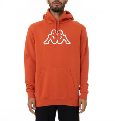 Logo Fleece Zavrok Hoodie - Orange