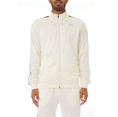Kappa Logo Tape Artem 2 Track Jacket - Cream