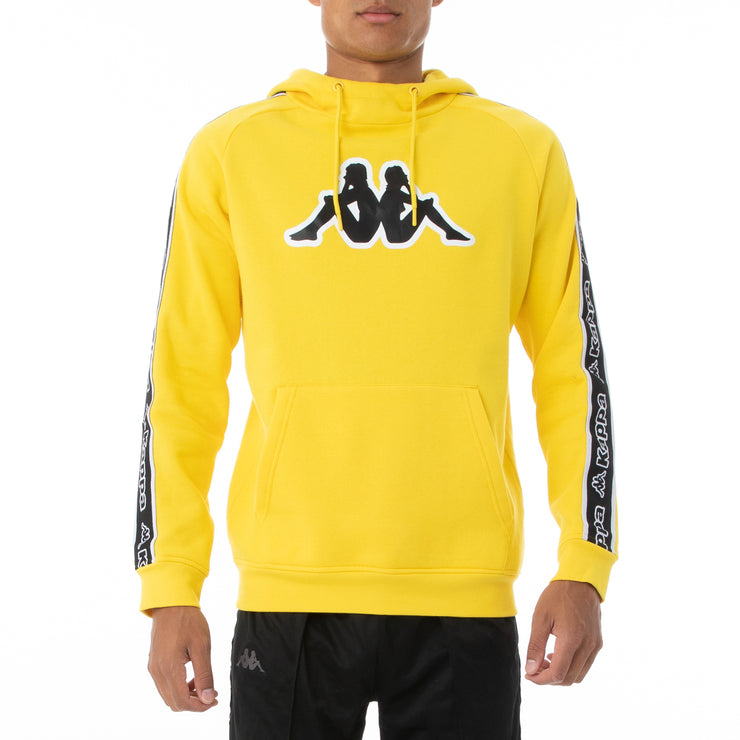 Logo Tape Apet 2 Hoodie - Yellow Black White