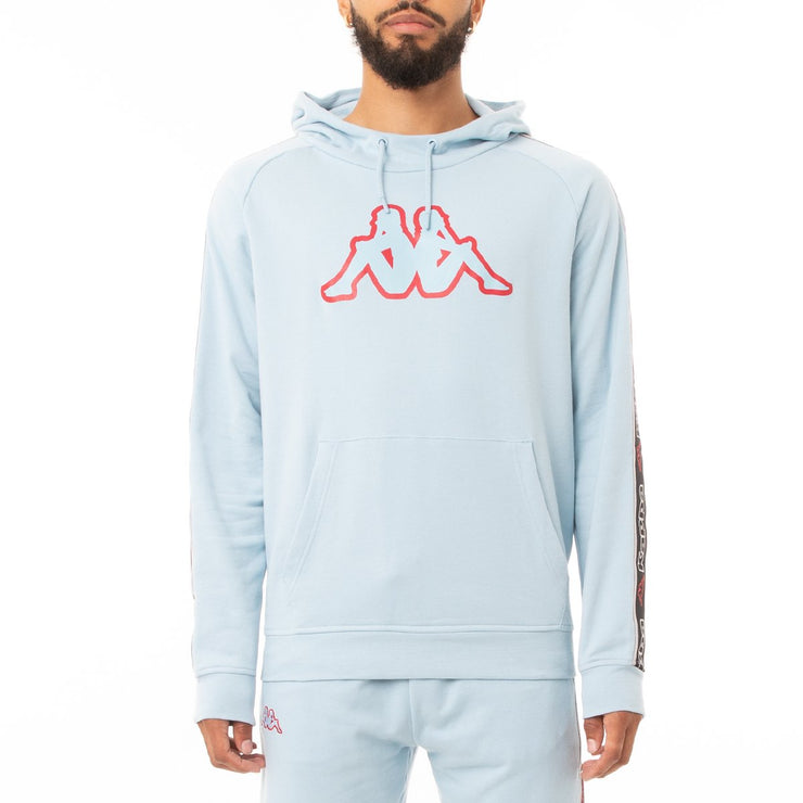 Kappa Logo Tape Apet 2 Hoodie - Blue Dream Black