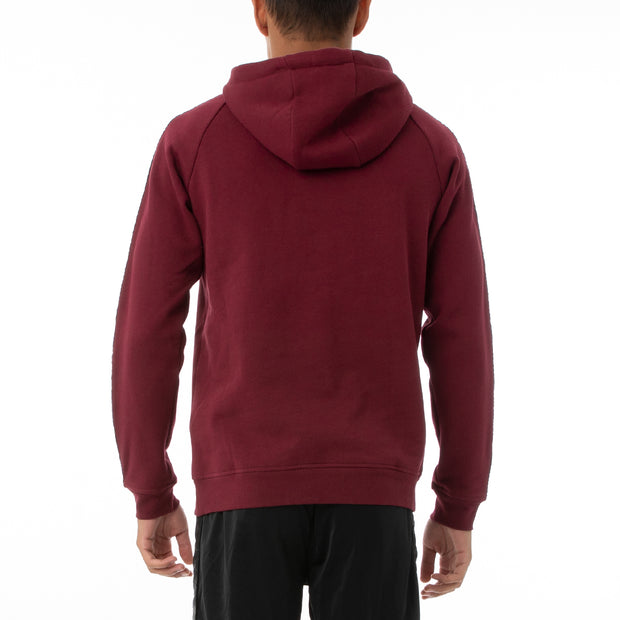 Authentic LA Aster 2 Hoodie - Red Dahlia Black